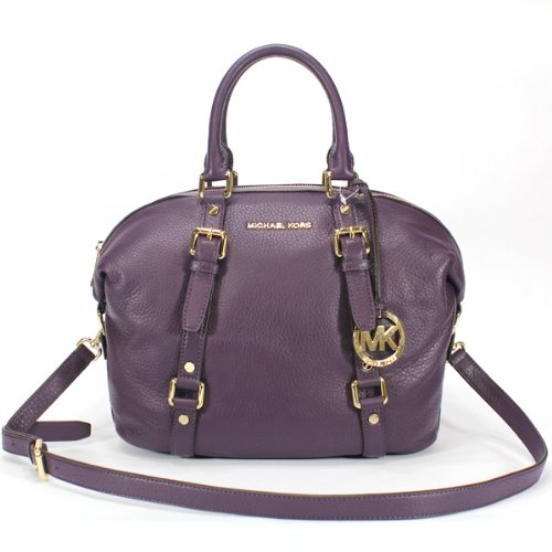 Michael Michael Kors Bedford Medium Satchel Purple
