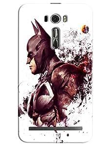 Blue Throat Batman Printed Designer Back Cover/Case For Asus Zenfone 2 (ZE601KL)