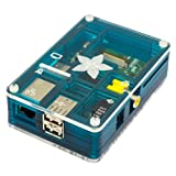 Pibow Adafruit Blue Case for Raspberry Pi