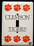 Clemson Tigers Light Switch Covers (single) Plates LS10001