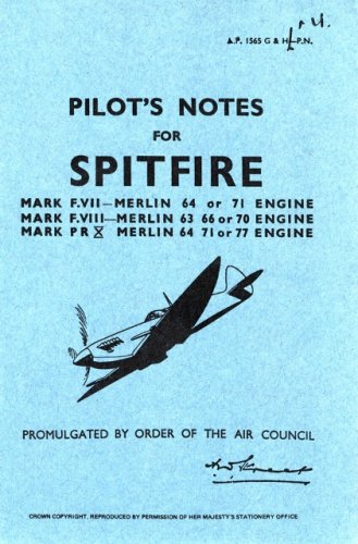 Supermarine Spitfire VII -Pilot's Notes
