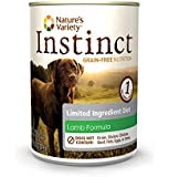 Nature's Variety Instinct Limited Ingredient Diet Grain-Free Lamb Formula Canned Dog Food, 13.2 oz. (Case of 12)