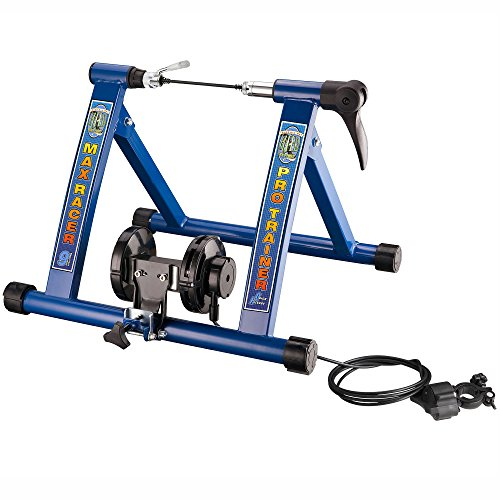 RAD Cycle Products Max Racer PRO 9 Levels of Resistance Bike Trainer Work Out