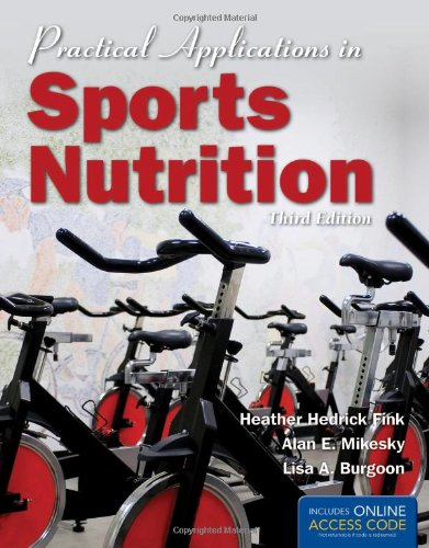 Practical Applications In Sports Nutrition - BOOK ALONE