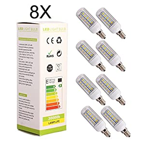 8X ELINKUME G9 7W Warm White 36LED SMD 5730 Corn Spot Lights Lamp,AC 200-240V from ELINKUME