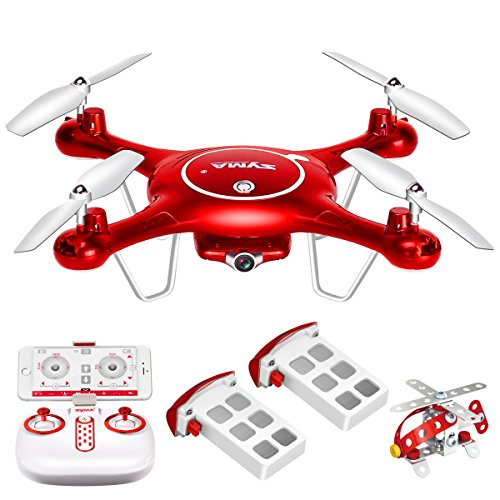 Syma-X5UW-Wifi-FPV-720P-HD-Camera-Quadcopter-Drone-with-Flight-Plan-Route-App-Control-Altitude-Hold-Function-With-Extra-Battery