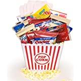 Ultimate Movie Night Gift Bundle, Popcorn, Candy, Cookies, Loads Of Goodies