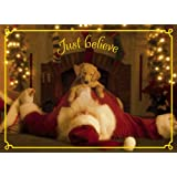 Avanti Christmas Cards, Just Believe, 10-Count ~ Avanti Press