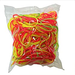 Flexi Rubber Bands - 2 inch Diameter - 250 pcs