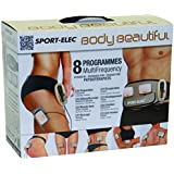 Sport-Elec Body Beautiful muni de 2 modules plus ceinture abdominale