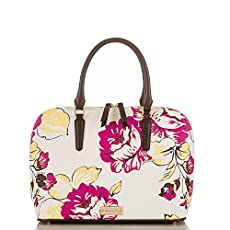 Vivian Dome Satchel<br>Dahlia Bouquet