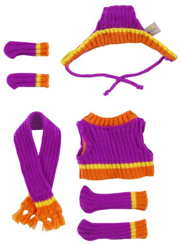 I-Dog Chill Purple & Orange Set #2