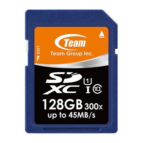 Team SDXCカード Class 10 ECOパッケージ 10年保証 (UHS-1 128GB)