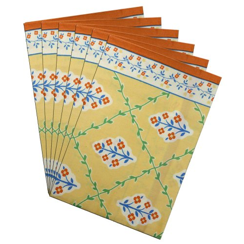 Napkins Set Of 6 Linen Cloth Fabric Summer Decorations Indian