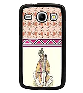 PrintDhaba Funny Image D-3795 Back Case Cover for SAMSUNG GALAXY CORE i8262 (Multi-Coloured)