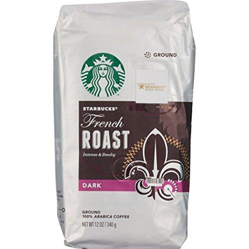 Starbucks French Roast Ground Coffee, 12 oz (Starbucks Ground Coffee Roast compare prices)
