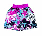 Splash About Kids Splash Board Shorts - Pink/Blue, Child large (59cm waist)