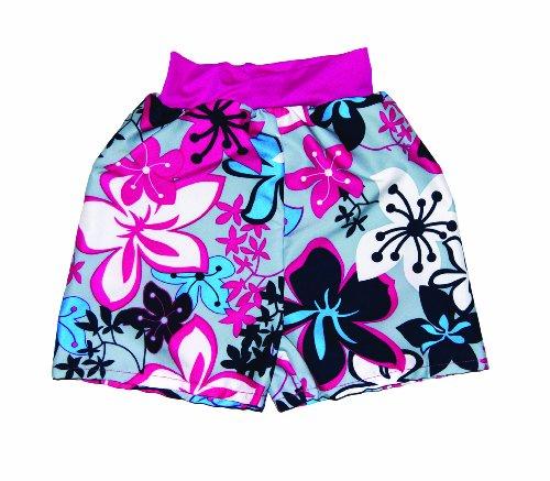 Splash About Adult Splash Board Swimming Shorts (Pink/Blue, Medium (70Cm Waist)) front-920686