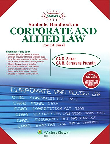 ca final law book free