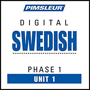 Swedish Phase 1, Unit 01 Audiobook