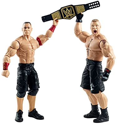 WWE Summer Slam John Cena and Brock Lesnar Figure (2 Pack) by Mattel