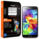 Spigen® Samsung Galaxy S5 Screen Protector Glass Slim [GLAS.tR SLIM] (0.4mm) Rounded Edges Glass Screen Protector...