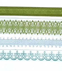 Martha Stewart Crafts Flourish Adhesive Ribbon Tape, Gold-Silver
