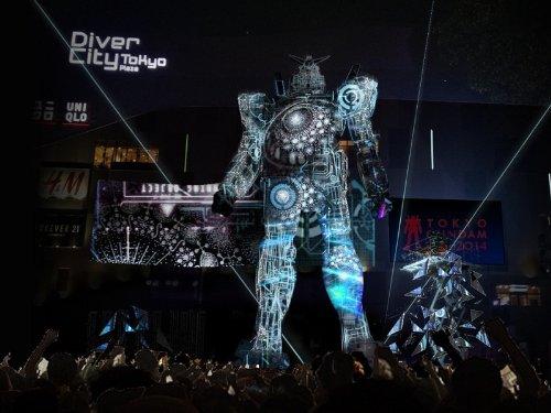 TOKYO ガンダムプロジェクト 2014限定版 ハコビジョン GUNDAM in DAIBA(食玩・ガム)