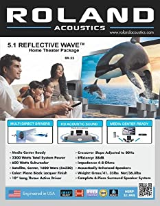 Roland Acoustics RA-55 Home Theater System