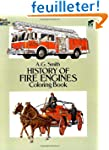 HISTORY OF FIRE ENGINES. Coloring book
