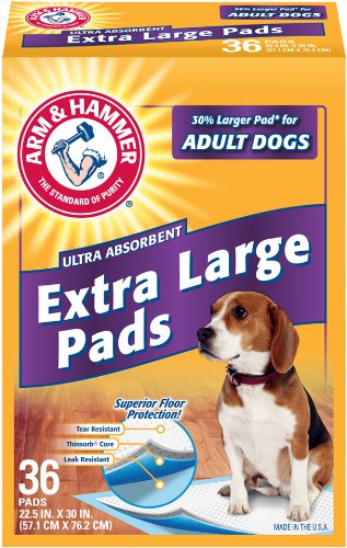 Arm & Hammer Floor Protection Extra Large Pads, 36-Count front-944702