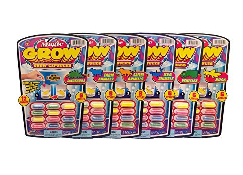 Magic-Grow-Capsules-Party-Favor-Bundle-Pack-6-Pack-ALL-Different