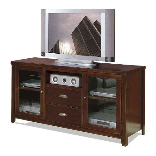 Cheap Tribeca Loft Cherry Finish Flat Panel TV Stand 31″H (TLC363)