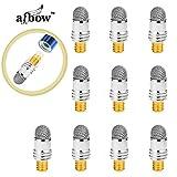 aibow ピンポイントタッチ 【細ペンタイプ】 [交換用ペン先 10個セット] 特殊導電繊維 スタイラスペン スマホ iPad iPhone タブレットPC など全ての静電容量式タッチパネルに対応abw-ps2