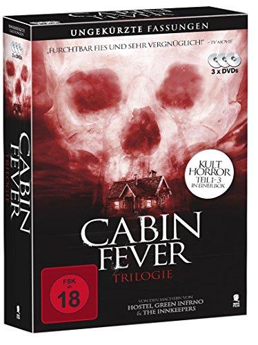 Cabin Fever 1-3 - Komplettbox mit allen 3 Teilen (3 DVDs)