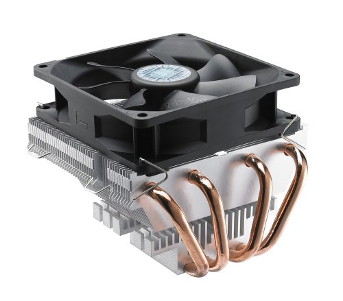 Cooler Master Vortex Plus - CPU Cooler with Aluminum Fins and 4 Direct Contact Heat Pipes (RR-VTPS-28PK-R1) (Cooler Master Geminii M4 compare prices)