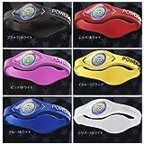 POWER BALANCE パワーバランスリストバンド 海外版(カラー6色)/電磁ホログラム効果でボディーバランス向上 サーフィン用品 トレーニング サプリメント アクセサリー