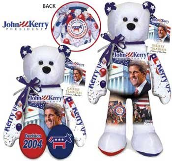 John Kerry Plush Bear
