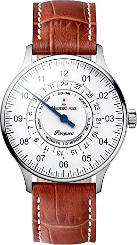 MeisterSinger Pangea Day Date Reloj automático con sólo una aguja Clásico & sencillo