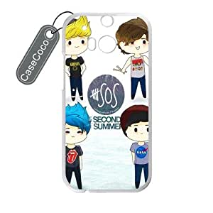 Amazon.com: CASECOCO(TM) 5 Seconds of Summer HTC One M8 - Protective