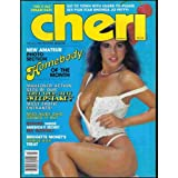 Cheri Adult Magazine March 1984 Homebody of the Month ~ Cheri