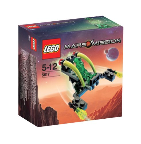 LEGO Mars Mission Exclusive Mini Figure Set #5617 Alien Jet Amazon.com