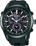 [セイコー]SEIKO 腕時計 SEIKO ASTRON アストロン ソーラー GPS 衛星電波修正 ステンレススチール 強化シリコンバンド 黒×白ダイヤル サファイアガラス スーパークリアコーティング 日常生活用強化防水 (10気圧防水) SAST011 メンズ