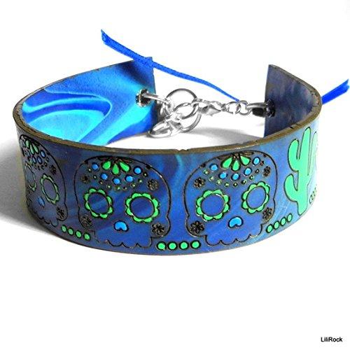 bracelet-tetes-de-morts-dia-de-los-muertos-par-lilirock