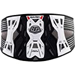 Troy Lee Designs KB3305 Adult Kidney Belt Off-Road/Dirt Bike Motorcycle Body Armor - White / Large/X-Large