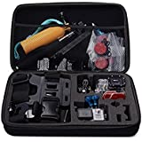 BPS Portable Large Carry Case for GoPro Hero Action Camera + GoPro Accessories Kit,Travel & Household Protective Bag with Excellent Cut Foam Interior for GoPro Hero 4/3+/3/2/1,SJ4000,SJ5000,SJ6000 Sport Camcorder
