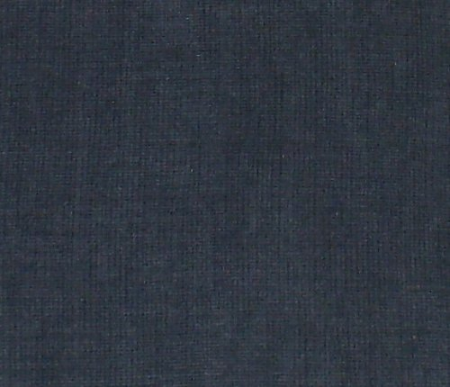 "Crinkle Weave Chenille Denim Blue, 16""x16"" Decorative Throw Pillow; Fully Assembled and Stuffed in the U.S.A"