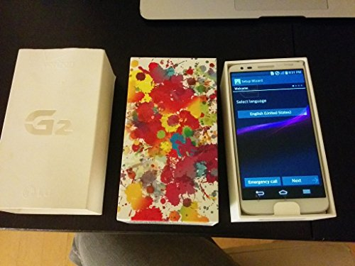 LG G2 VS980 32GB 4G LTE Verizon Android Smartphone - White