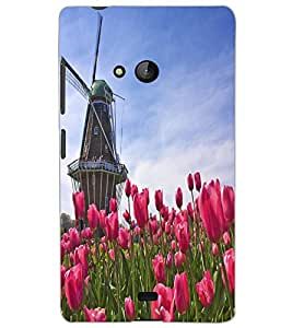 MICROSOFT LUMIA 540 WINDMILL Back Cover by PRINTSWAG