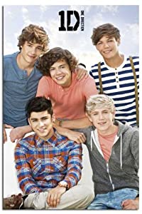 Iposters One Direction Large Group Poster - 91.5 X 61cms (36 X 24 Inches) by iPosters